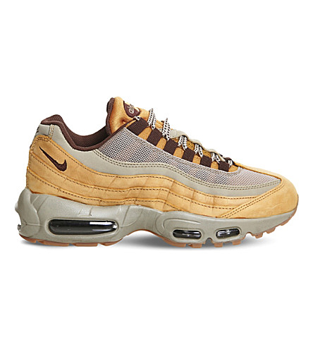 NIKE Air Max 95 gradient leather trainers