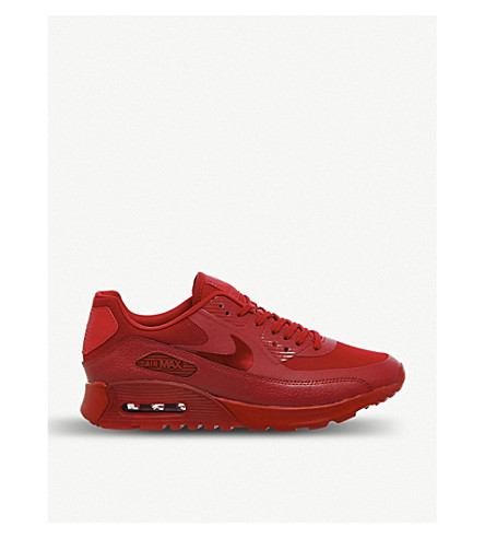 NIKE Air Max 90 Ultra trainers (Red mono ultra