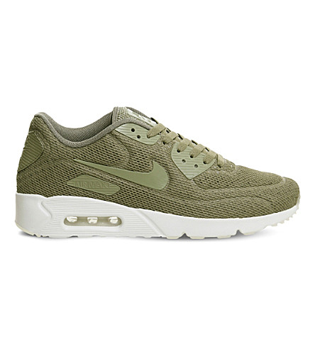 NIKE Air Max 90 Ultra BR mesh sneakers (Trooper+summit+white