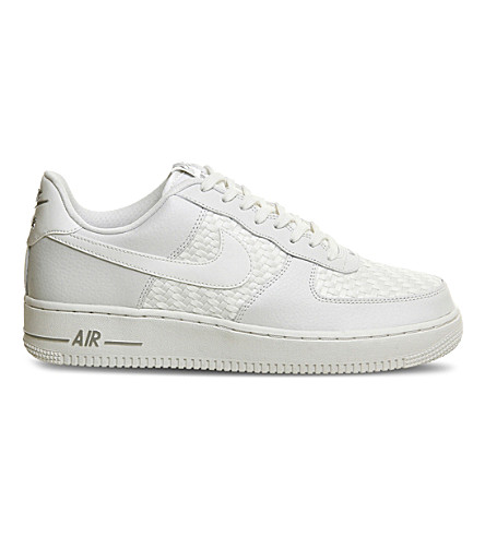 NIKE Air force 1 LV8 woven trainers (Summit white weave