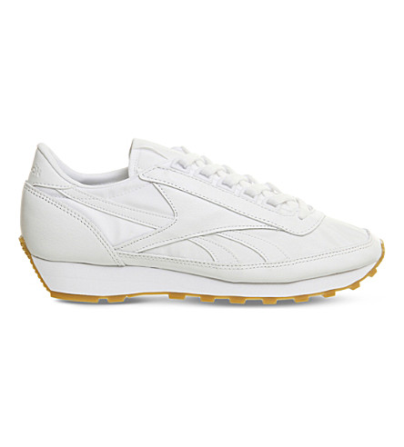 7f4d4ffc02b REEBOK Aztec OG leather and nylon trainers (White+gum