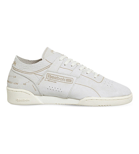 REEBOK Workout Low Clean suede trainers
