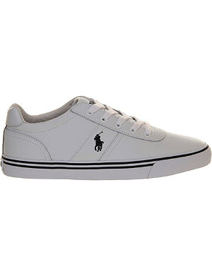 RALPH LAUREN Hanford canvas trainers
