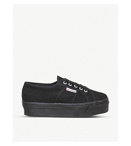 SUPERGA 2790 canvas trainers (Black
