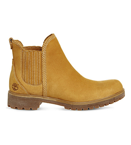 TIMBERLAND Lyonsdale leather chelsea boots (Wheat nubuck