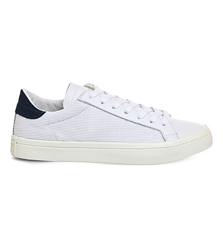 ADIDAS Court vantage trainers (White+tech+ink