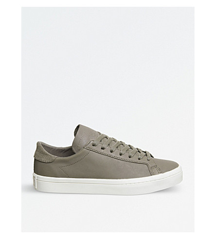 ADIDAS Court vantage leather trainers (Trace+cargo+white