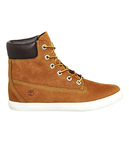 TIMBERLAND Glastenbury nubuck leather 6inch boots (Rust+nubuck