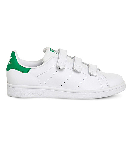 ADIDAS Stan smith CF leather trainers (White green