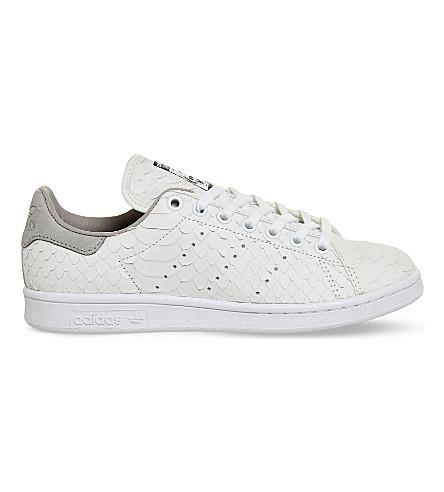 ADIDAS Stan Smith decon leather sneakers (White nude snake