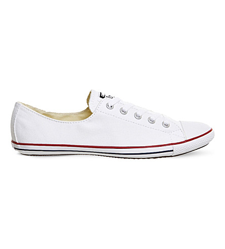 CONVERSE Chuck Taylor Lite 2 canvas trainers (Optical white