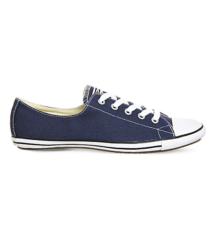 CONVERSE CT Lite 2 canvas trainers (Navy