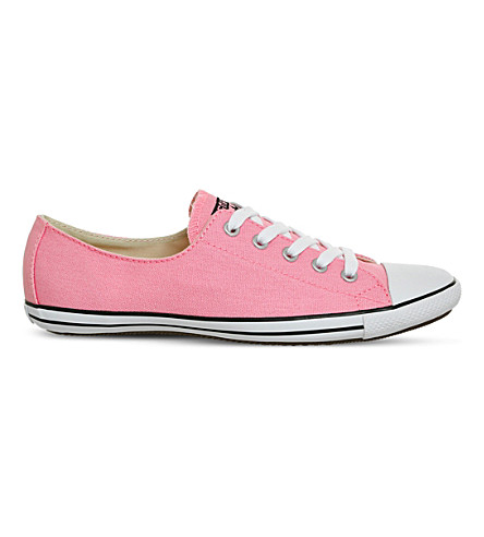 CONVERSE CT Lite 2 canvas trainers (Pink+glow+white