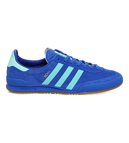 ADIDAS Jeans 2 low-top suede trainers