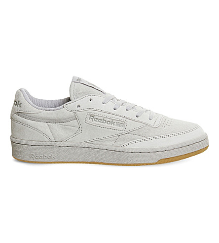REEBOK Club C 85 suede trainers