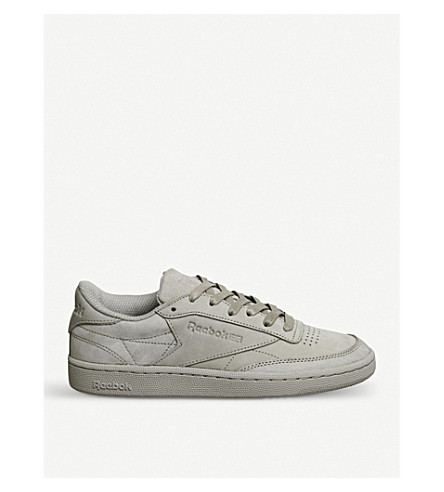 REEBOK Club C 85 suede trainers (Beach+stone+gold