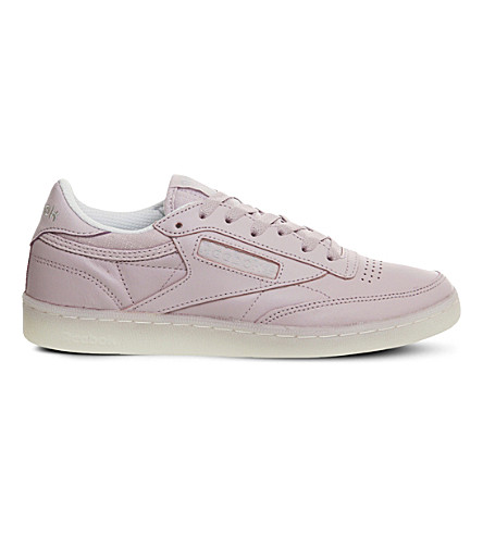 REEBOK Club C 85 trainers (Shell+purple+white