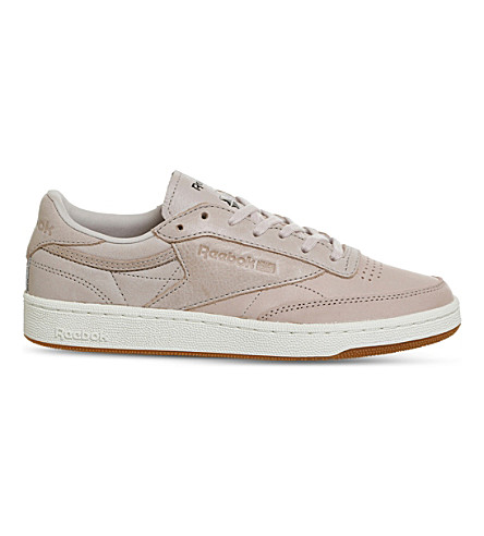 REEBOK Club C 85 leather trainers (Golden+neutrals