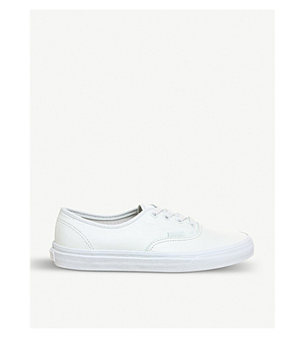 VANS Era leather trainers (White mono excl