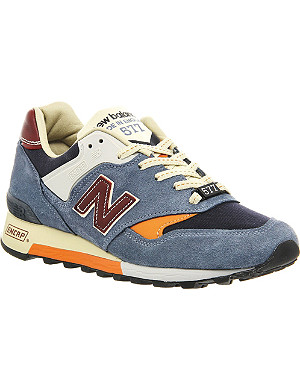 NEW BALANCE 577 suede trainers
