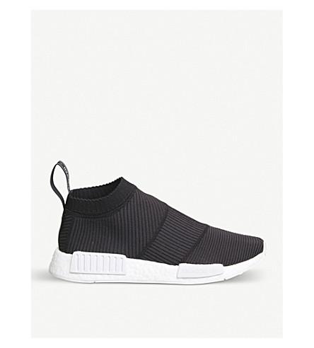 ADIDAS Nmd City Sock Primeknit trainers (Black+white+goretex