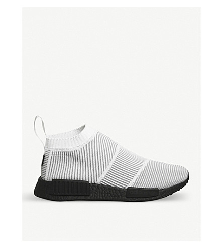 ADIDAS Nmd City Sock Primeknit trainers (White+black+goretex