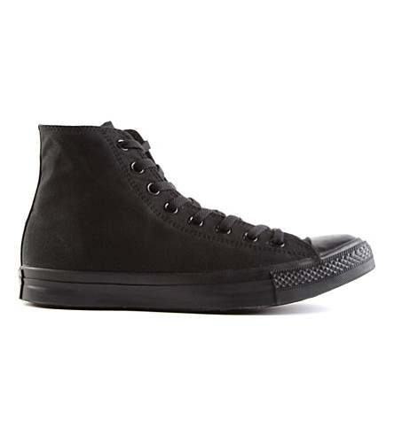 CONVERSE All Star Mono Ox high-top (Black+mono+canvas