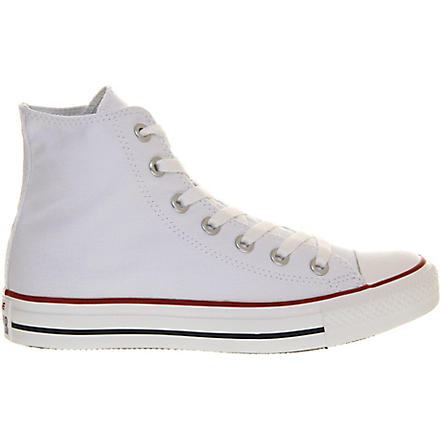 CONVERSE All Star canvas high-tops (White