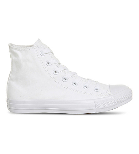 CONVERSE All Star Mono Ox high-tops (White mono