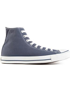 CONVERSE All Star blue-canvas high-tops