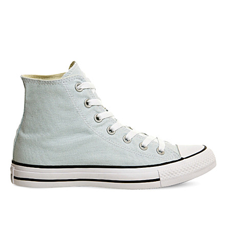 CONVERSE All Star high-top canvas trainers (Polar blue canvas