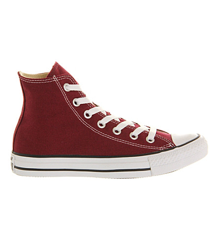CONVERSE All Star canvas high-tops (Maroon