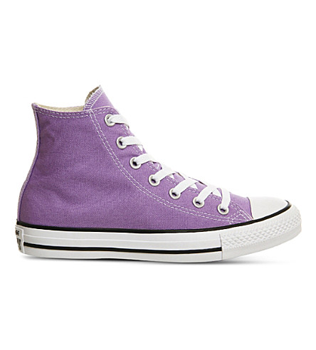 CONVERSE Chuck Taylor All-Star high-top canvas trainers (Frozen lilac