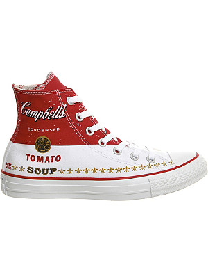 CONVERSE Andy Warhol All Star high-top trainers