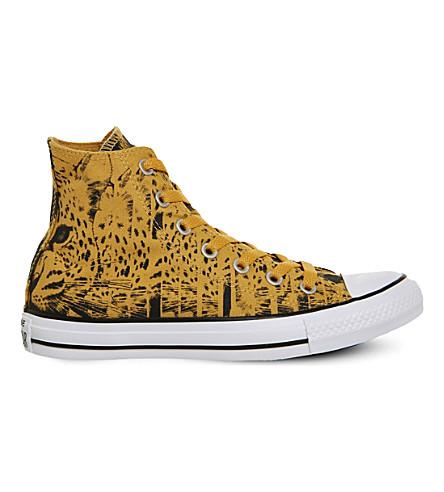 CONVERSE All star hi leopard print trainers (Leopard print
