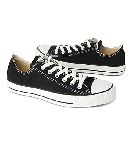 CONVERSE All Star Ox low shoes (Black+canvas