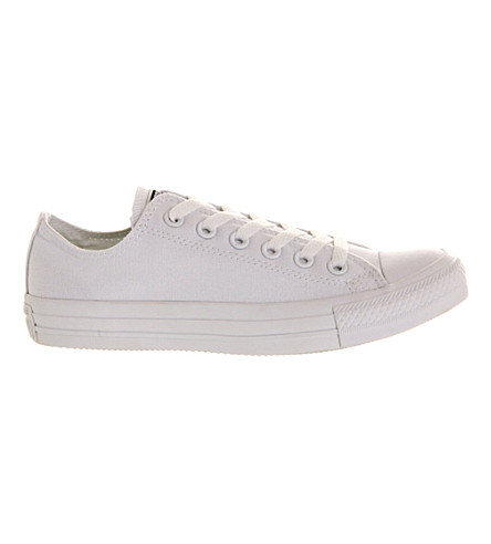 CONVERSE All star low-top sneakers (White+mono