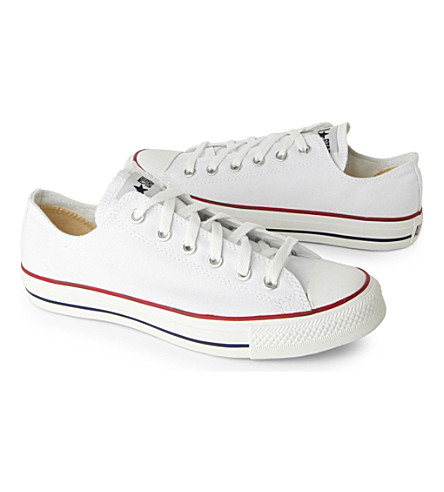 CONVERSE All Star Ox low shoes (White+canvas