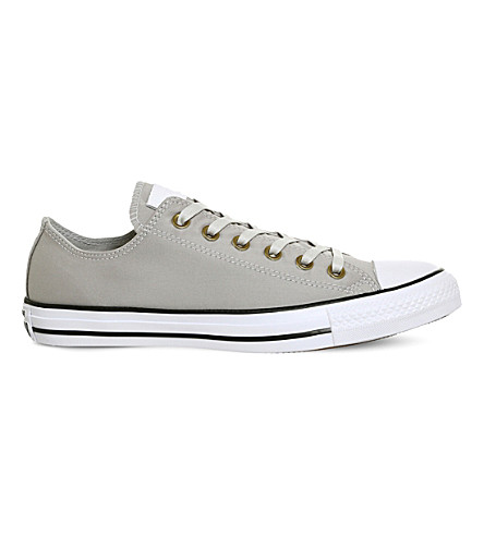 CONVERSE All Star canvas low-top trainers (Mouse+white