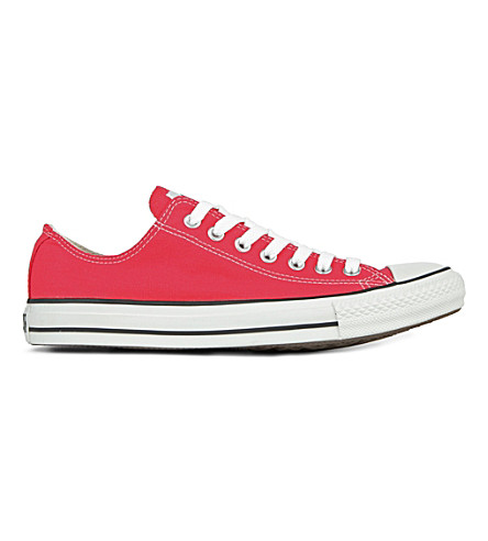 CONVERSE All star ox low trainers (Red+canvas