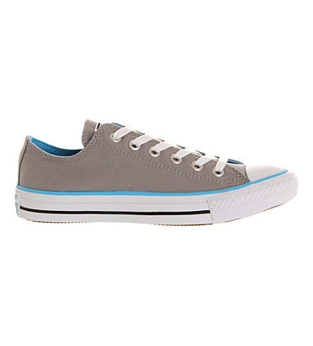 CONVERSE All Star low-top trainers (Grey+blue