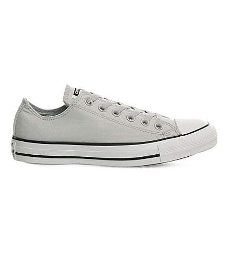 CONVERSE All Star canvas low-top trainers