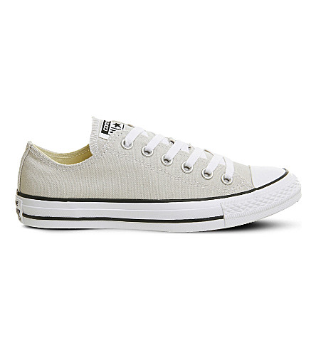 CONVERSE All Star low-top canvas trainers (Pale+putty