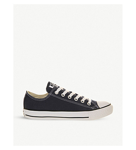 CONVERSE All Star low-top trainers (Navy+canvas