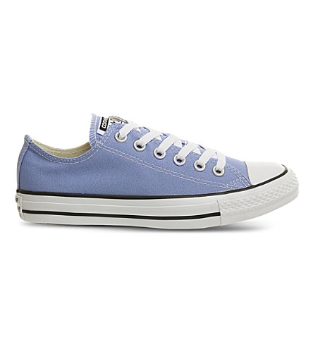 CONVERSE All Star Classic Chuck low-top canvas trainers (Pioneer+blue