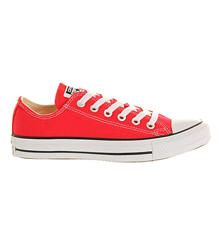 CONVERSE All Star low-top sneakers (Red