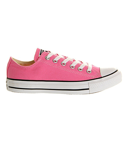 CONVERSE All Star low-top trainers (Pink+canvas
