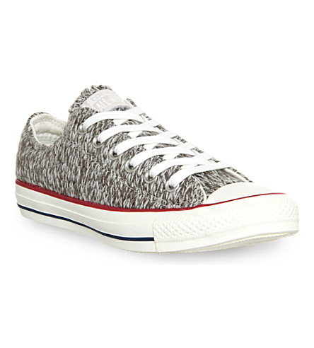 CONVERSE All Star low-top trainers (Charcoal egret knit