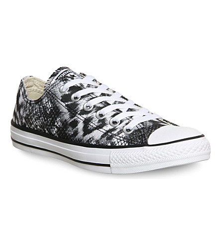 CONVERSE All Star low-top trainers (Leopard mimaki