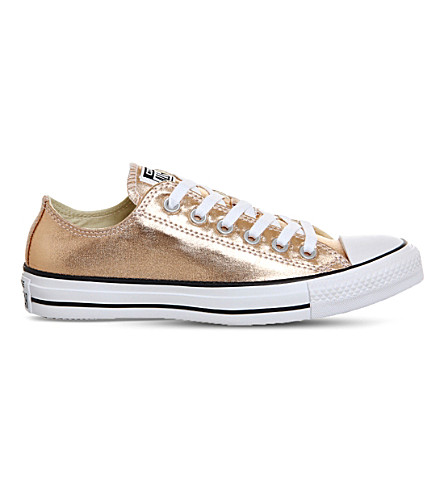 CONVERSE All-Star low-top metallic sneakers (Metallic+sunset+glow